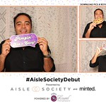 #AisleSocietyDebut