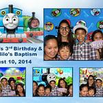 Jason's 3rd Birthday & Nilo's Baptism